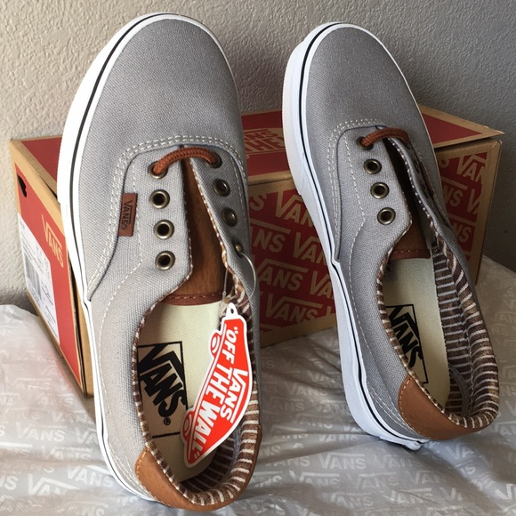 48f1fcd909 Vans Era 59  (C L) Silver Sconce Stripe Denim